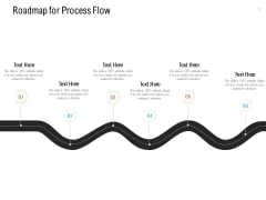 Roadmap For Process Flow Ppt PowerPoint Presentation Summary Picture