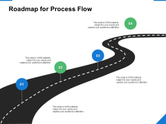 Roadmap For Process Flow Timeline Ppt PowerPoint Presentation Layouts Show
