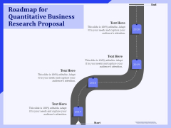 Roadmap For Quantitative Business Research Proposal Ppt PowerPoint Presentation Professional Example File PDF