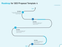 Roadmap For SEO Proposal 4 Step Process Ppt Infographic Template Graphic Images PDF