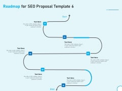 Roadmap For SEO Proposal 6 Step Process Ppt Model Templates PDF