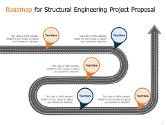 Roadmap For Structural Engineering Project Proposal Ppt Summary PDF
