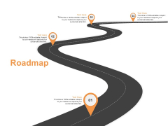 Roadmap Four Stage Ppt PowerPoint Presentation Visual Aids Files