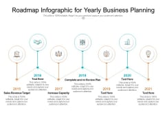 Roadmap Infographic For Yearly Business Planning Ppt PowerPoint Presentation Rules