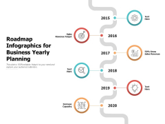 Roadmap Infographics For Business Yearly Planning Ppt PowerPoint Presentation Outline Ideas