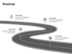 Roadmap Learning Ppt PowerPoint Presentation Icon Maker