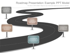 Roadmap Presentation Example Ppt Model
