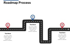 Roadmap Process Three Stage Ppt Powerpoint Presentation Outline Background Images