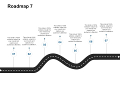 Roadmap Seven Stage Ppt Powerpoint Presentation File Show