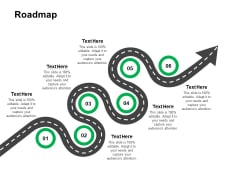 Roadmap Six Stage Ppt Powerpoint Presentation Gallery Background Image