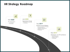 Roadmap Success People Analytics HR Strategy Roadmap Ppt Infographic Template Ideas PDF