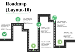 Roadmap Template 10 Ppt PowerPoint Presentation File Outfit