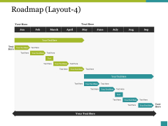 Roadmap Template 4 Ppt PowerPoint Presentation Infographics Examples