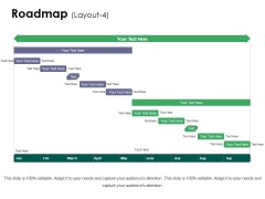 Roadmap Template 4 Ppt PowerPoint Presentation Infographics Objects