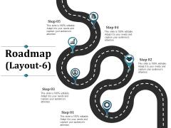 Roadmap Template 6 Ppt PowerPoint Presentation Model File Formats