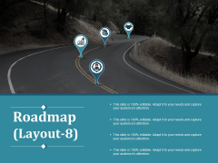 Roadmap Template 8 Ppt PowerPoint Presentation Infographics Slides