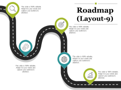 Roadmap Template 9 Ppt PowerPoint Presentation Summary Deck