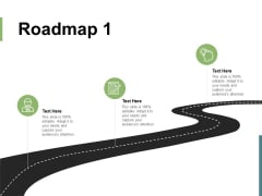 Roadmap Three Stage Ppt PowerPoint Presentation File Sample
