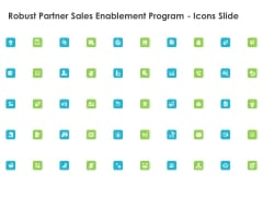 Robust Partner Sales Enablement Program Icons Slide Portrait PDF