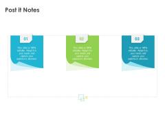 Robust Partner Sales Enablement Program Post It Notes Professional PDF