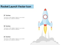 Rocket Launch Vector Icon Ppt PowerPoint Presentation Layouts Sample PDF