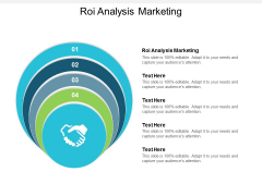 Roi Analysis Marketing Ppt Powerpoint Presentation File Background Image Cpb