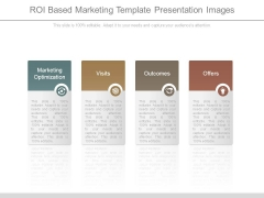Roi Based Marketing Template Presentation Images