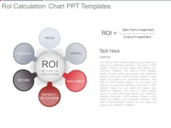 Roi Calculation Chart Ppt Templates