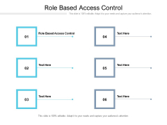 Role Based Access Control Ppt PowerPoint Presentation Summary Outfit Cpb Pdf