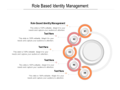 Role Based Identity Management Ppt PowerPoint Presentation Inspiration File Formats Cpb Pdf