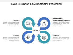 Role Business Environmental Protection Ppt PowerPoint Presentation Gallery Skills