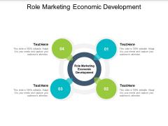 Role Marketing Economic Development Ppt PowerPoint Presentation Model Graphics Tutorials Cpb