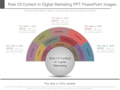 Role Of Content In Digital Marketing Ppt Powerpoint Images