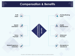 Role Of Human Resource In Workplace Culture Compensation And Benefits Elements PDF