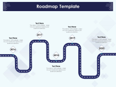 Role Of Human Resource In Workplace Culture Roadmap Template Clipart PDF