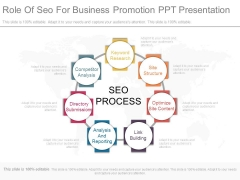 Role Of Seo For Business Promotion Ppt Presentation