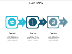 Role Sales Ppt PowerPoint Presentation File Elements Cpb