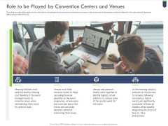 Role To Be Played By Convention Centers And Venues Guidelines PDF