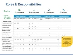Roles And Responsibilities Ppt PowerPoint Presentation Portfolio Elements
