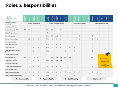 Roles And Responsibilities Ppt PowerPoint Presentation Summary Example File