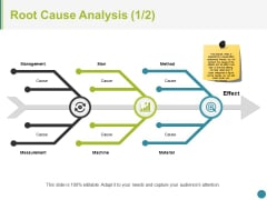 Root Cause Analysis Template 1 Ppt PowerPoint Presentation Slides Brochure