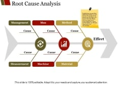 Root Cause Analysis Template 1 Ppt PowerPoint Presentation Styles Graphics Design