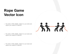 Rope Game Vector Icon Ppt PowerPoint Presentation File Clipart