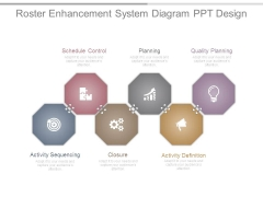 Roster Enhancement System Diagram Ppt Design