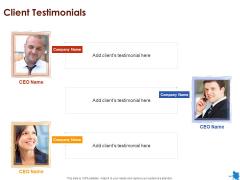 Rotary Press Printing Client Testimonials Ppt Portfolio Graphics Tutorials PDF