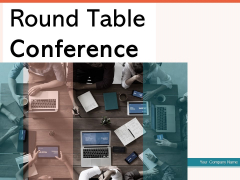 Round Table Conference Employees Business Analytics Ppt PowerPoint Presentation Complete Deck