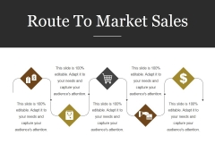 Route To Market Sales Ppt PowerPoint Presentation Graphics