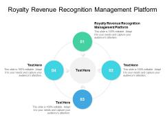 Royalty Revenue Recognition Management Platform Ppt PowerPoint Presentation Example Cpb