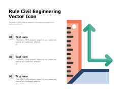 Rule Civil Engineering Vector Icon Ppt PowerPoint Presentation Slides Example File PDF