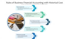 Rules Of Business Financial Accounting With Historical Cost Ppt PowerPoint Presentation Professional Slide Portrait PDF
